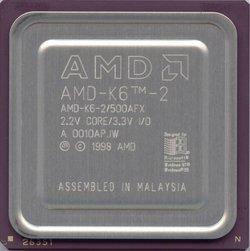 AMD AMD-K6-2/500AFX