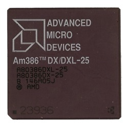 AMD Am386DX/DXL-25