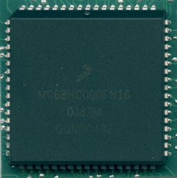Freescale MC68HC000FN16