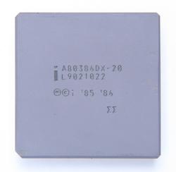 Intel A80386DX-20