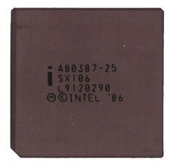 Intel A80387-25
