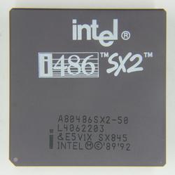Intel A80486SX2-50
