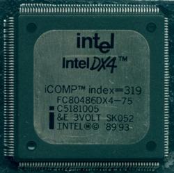 Intel FC80486DX4-75