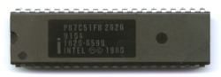 Intel P87C51FB (HP label)