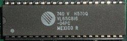 VLSI VL65C816-04PC