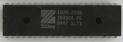 Zilog Z8400APS (HP label)